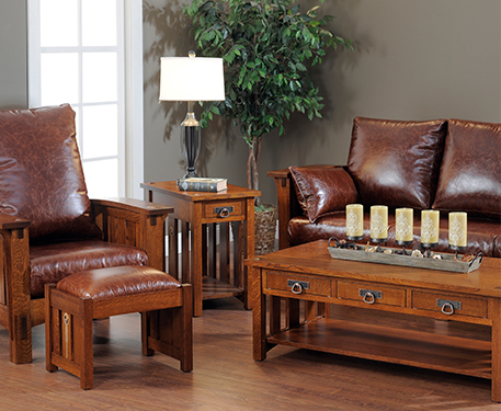 Hardwood Furniture American Made Custom Mission Furniture - Table pads atlanta