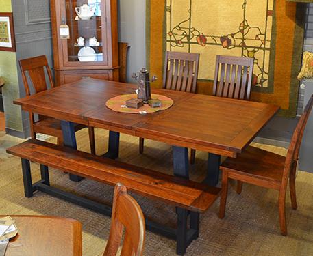 Hardwood Furniture, American Made, Custom Mission Furniture ...