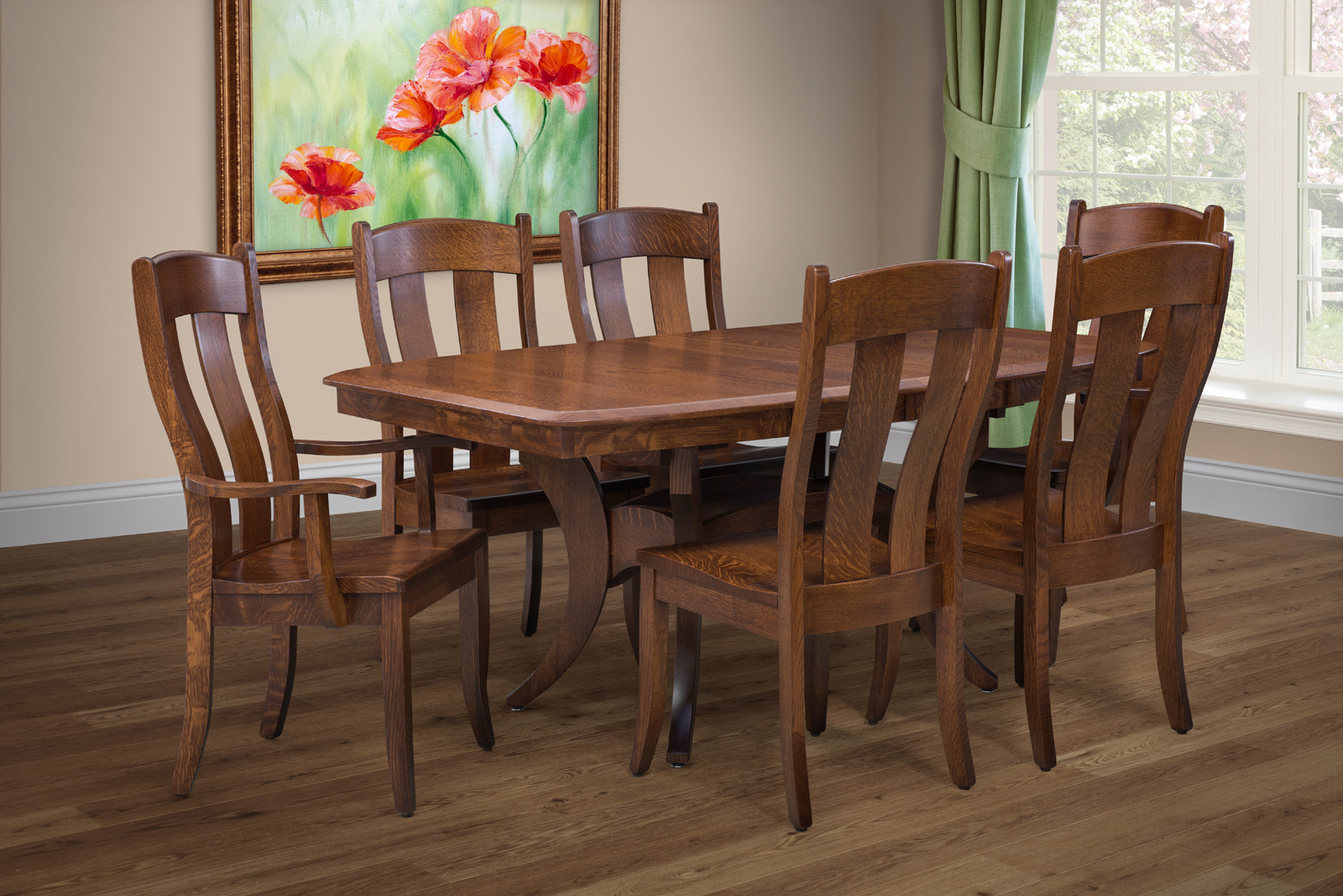 Our Fort Knox Dining Room Set Has Some Advantages That Many Other Sets Lack On Todays Market We Use American Solid Hardwoods Along With The Finest